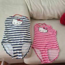 2  bañadores niña Hello Kitty 122 128 6 - 8 años  Badeanzüge costume da bagno