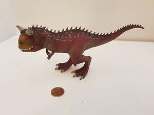Schleich Carnotaurus Rex Dinosaur Figure, #14586, 8.5 Inches, Combine,Papo,ELC