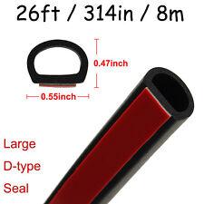 Large D Type Car Door Rubber Seal Edge Trim Seal Interior & Exterior Strip Seal