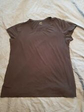 Apt 9 Essentials Tee Womens Black Short Sleeve Shirt Sz XL 56% Pima Cotton (1)