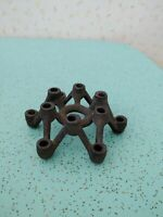 Mid Century Cast Iron 12 Hole Candle Holder Thin Taper Japan