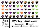 Mickey Halloween - Waterslide Nail Decal - 50 PC - BNA-10207