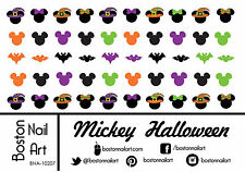 Mickey Halloween  - Waterslide Nail Decal - 50 PC - BNA-10207