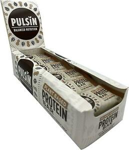 PULSIN | Peanut Chocolate Protein Booster Bar 50g (18 Pack)