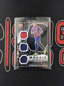 2020-21 Panini Obsidian Soccer NEYMAR JR /149 Triple Patch Mosaic FC Barcelona