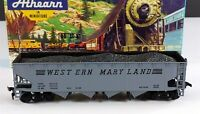 Athearn 1757 Western Maryland 40' Quad Open Hopper HO Scale