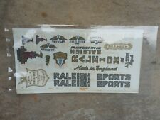 1 Sheet RALEIGH SPORT SMALL Transfer Decal Sticker For 1 Raleigh Vintage Bicycle