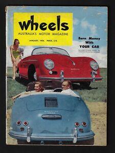 WHEELS MAGAZINE JANUARY 1956
