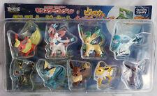 Pokemon Eevee Friends Monster Collection Figure Evolution Pack Set Eeveelutions