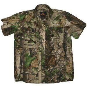 Game Winner Button Up Youth Small Camo Hunting Short Sleeve Hunting Shirt