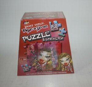 BRATZ WORLD! TOKYO A GO-GO PUZZLE & STICKERS BRAND NEW SEALED