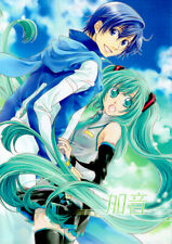Vocaloid Light Romance Doujinshi Comic Manga Kaito x Miku Combination Tone