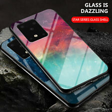 For Samsung Galaxy A21S A31 M31 Tempered Glass Case TPU Bumper Protective Cover