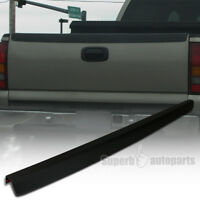 For 1999-2007 Chevy Silverado SL Tailgate Protector Cap High Quality ABS Black