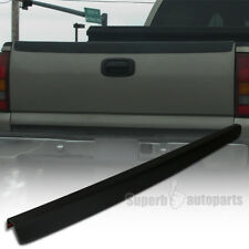 1999-2007 Chevy Silverado SL Tailgate Protector Cap High Quality ABS Black