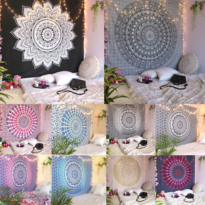 Indian Hippie Tapestry Mandala Wall Hanging Wall Blankets Home Decorative USA