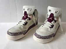 Nike Air Jordan Spizike  White/Sail/Bordeaux-Red Bronze 535712 132 Sz 7Y