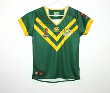 Kangaroos Australia Rugby League Canterbury Ladies Jersey Size 16