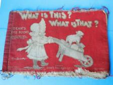 DEAN'S RAG BOOKS VERNON BARRETT 1905 CHILDRENS WHAT IS THIS WHAT IS THAT