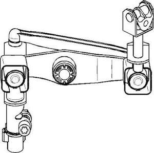 Opel Meriva 2003-2010  Gear Linkage
