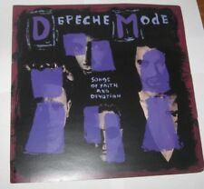 "Depeche Mode Songs Of Faith And Devotion Mute Uk Promo Cover Art 12""x12"""