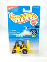 1991 Hot Wheels Mattel Forklift Die Cast Metal Collector No. 475 NOC w/ Protecto