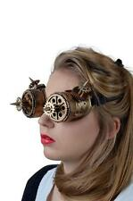 Steampunk Maske Brille bronzefarben Augenmaske,Maske,Steampunkmaske ..