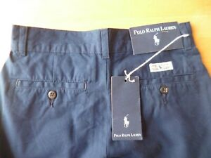 Vintage Polo Ralph Lauren French Navy, cotton, size 10 shorts, new with labels