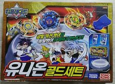 TAKARA TOMY Beyblade Top Blade Union Gold Set