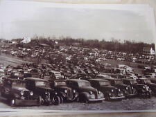 1930 'S JUNK YARD  LOT GREAT CARS    11 X 17  PHOTO /  PICTURE