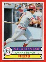 1979 Topps #200 Johnny Bench NEAR MINT HOF Cincinnati Reds FREE SHIPPING