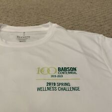 Babson College Centennial Year Spring Wellness Challenge Athletic Shirt NWT M