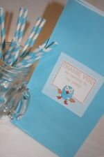 12 x Giggle and Hoot Loot Bag- 1st Birthday Party Hootabelle Loot Bag Favour