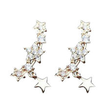 Vine Climber Small Little Star Earrings Little Sparkling Star Pendant Ear Gifts