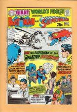 World's Finest Comics #188, Giant #64, Curt Swan Cover! Oct-Nov 1969, Dc, Vf-