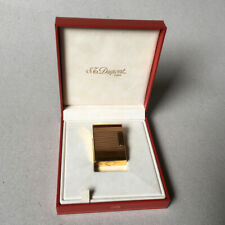 Briquet Dupont Ligne 1 — petit modèle — recharge jaune — boîte d'origine — 1996.