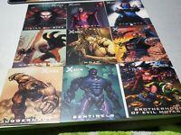 2009  Marvel X-Men: Archives Sub Set Nemesis Brotherhood of Evil Mutants  N1-N9