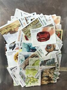 Australian $1 x 200 Postage Stamps Unfranked Face Value $200 Off Paper