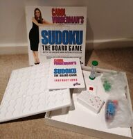 Carol Vorderman's Sudoku The Board Game puzzle 1 players or 2-8 players age 8+