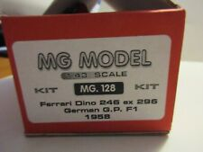 MG MODEL 1/43 FERRARI DINO 246 EX 296 GERMAN GP F1 1958 KIT MG 128