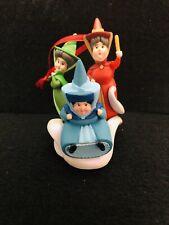 Disney's Sleeping Beauty Fairies Fona Fiona Flora Christmas Ornament