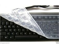 1x Universal Silicone Keyboard Protector Keyboard cover skin for Desktop PC