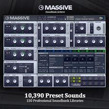 THE BEST NI Massive HUGE Pro-Quality Studio Producer Archive 10,390 Presets
