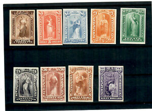 US COLLECTION OF (9) NINE NEWSPAPER PLATE CARD PROOFS - VERY ATTRACTIVE!