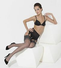 ENGLISH ELEGANTI RHT STOCKINGS 100% NYLON..NYLONS IMPERFECTS LIGHT GREY  MEDIUM