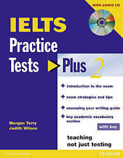 Longman IELTS Practice Tests Plus 2 with Key & Audio CD | M Terry J Wilson @NEW@
