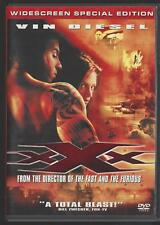 Xxx (Dvd, 2002, Widescreen Special Edition) Vin Diesel, Samuel L. Jackson