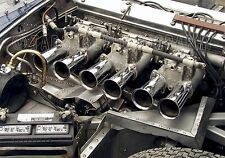 Jaguar XKE Engine  Vintage Classic Race Car Photo CA-1236