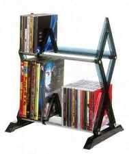 Rack CD DVD Storage Organizer Shelf Tower Cabinet Stand Multimedia Games