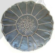 kechart - Pouf en cuir marocain, pouf de haute qualité, handmade artisanat